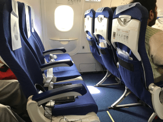 IndiGo Airlines exit row XL premium seats