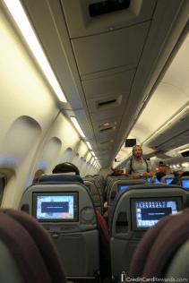 LATAM economy cabin 767-300