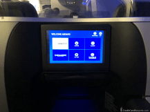 JetBlue Mint Video Screen