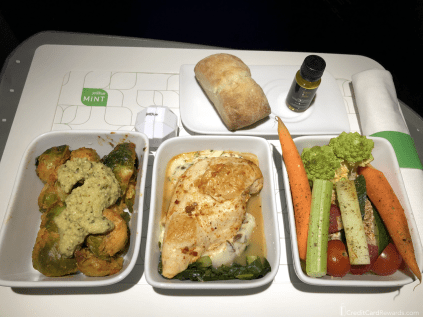 JetBlue Mint Tapas Meal Service - Wait, Where's My Wine??