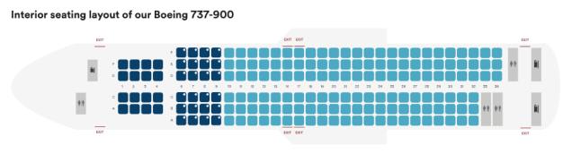 alaska airlines 737-900 seat map