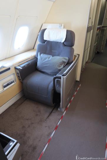 Lufthansa First Class Seat 2K