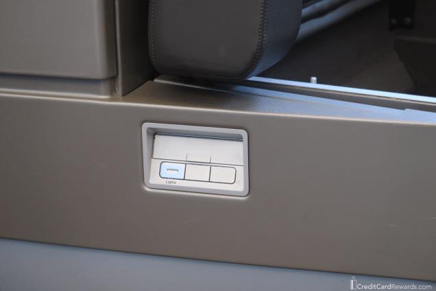 Lufthansa First Class Mood Lighting Switch