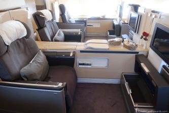 Lufthansa First Class Middle Seats