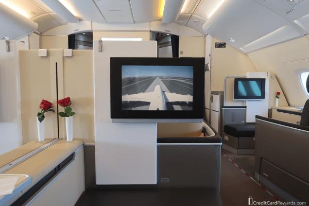 Lufthansa First Class IFE Screen