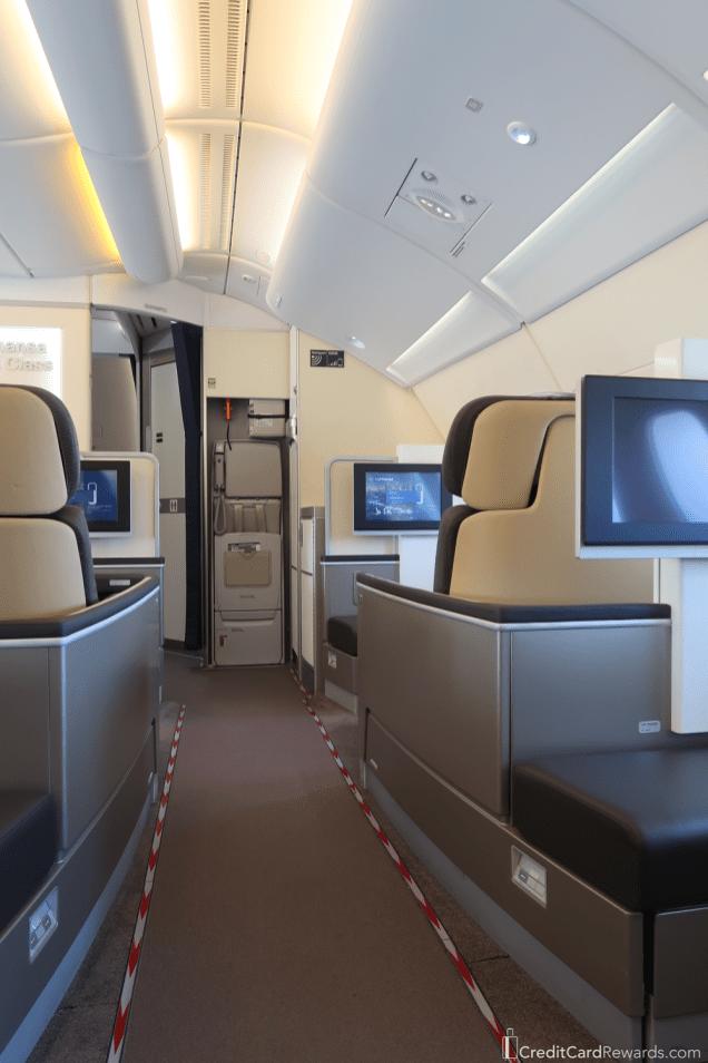 Lufthansa First Class Jumpseat
