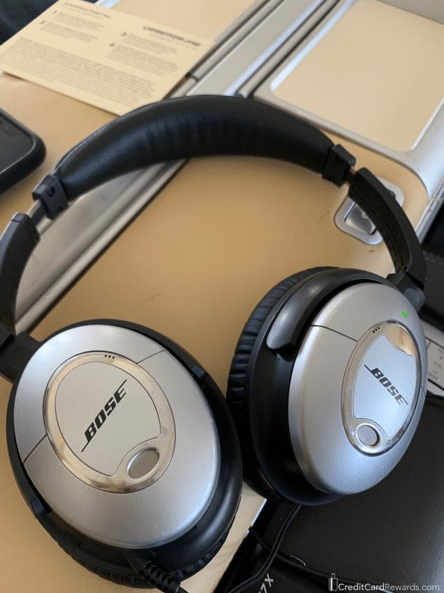 Lufthansa First Class Bose Headphones