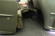 Singapore Airlines Business Class Legroom