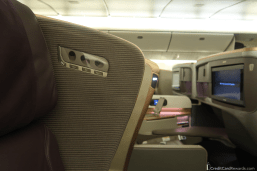 Singapore Airlines Business Class Reading Lights