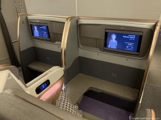 Singapore Airlines Business Class Bulkhead Seats