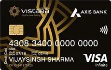 Axis Bank Air Vistara Infinite