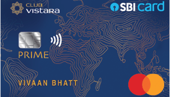 SBI Club Vistara Prime