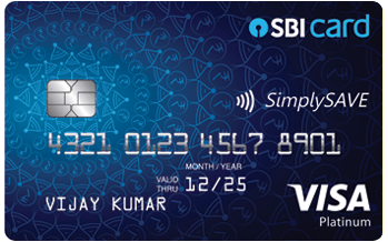 SBI Simply Save Credit Card