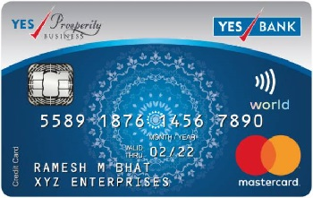 Yes Bank Prosperity Plus Credit Card