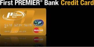First Premier Bank MasterCard