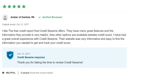 credit sesame app review 2019
