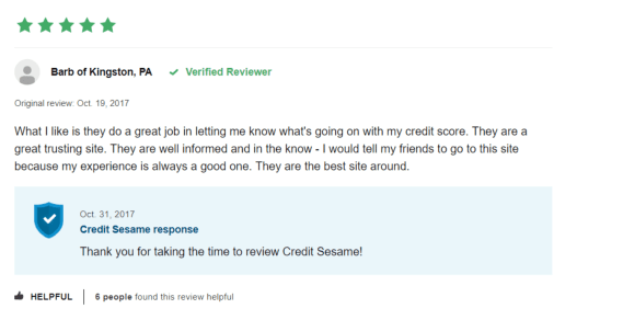 review credit sesame