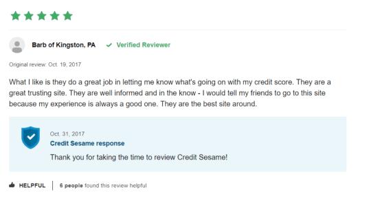 review credit sesame