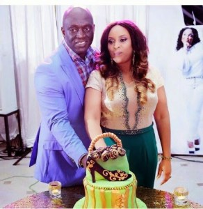 Pics from Sammie Okposo's wife's 40th birthday party