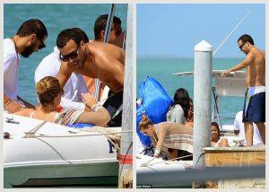 Khloe Kardashian & French Montana enjoying romantic beach holiday