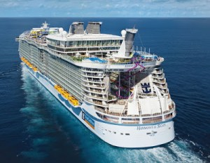 Exquisite Inside Photos Of The World's Largest Cruise Ship As It Sets Out For First Sea Trial