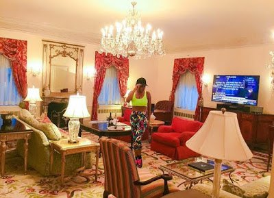 Chika  Ike in New York