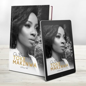 Toke Makinwa releases new book,On Becoming -Her journey through pain to victory