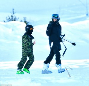 Angelina Jolie Marks the New Year with her 6 kids as they go Skiing in Colorado