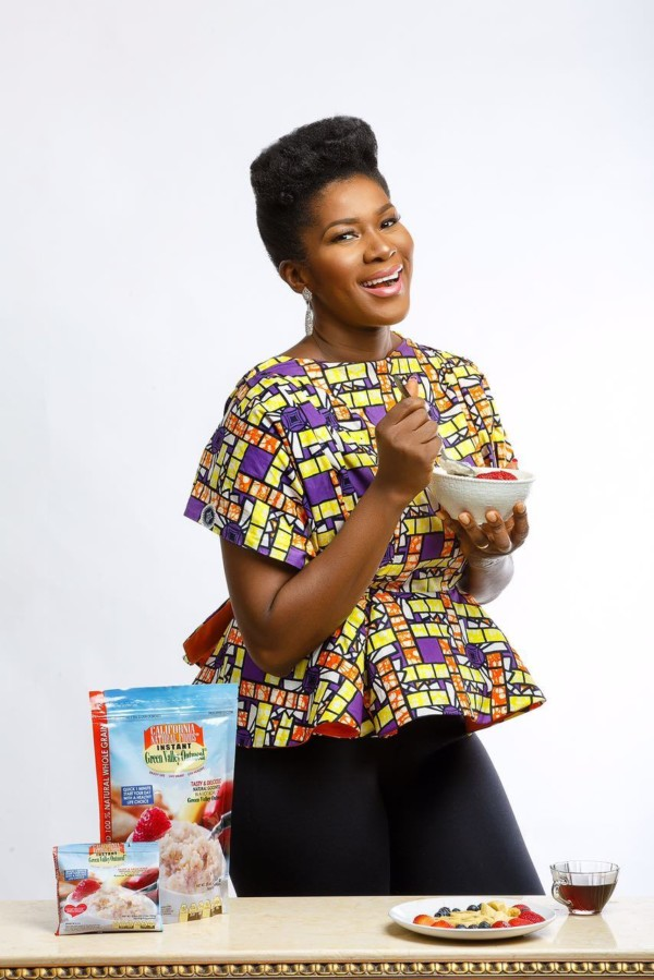 Nollywood Actress Stephanie Okereke Linus becomes Green Valley Oatmeal Ambassador