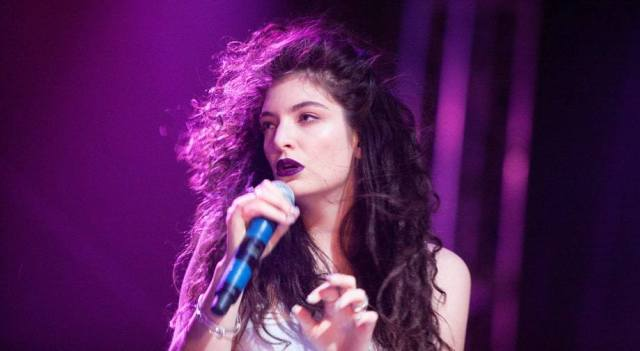 Lorde won two Grammy awards for 'Royals' in 2014.