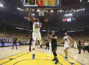 Too Hot to Handle as Curry, Durant lead Warriors to 2-0 lead with 132-113 rout