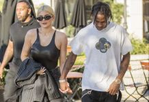 Kylie Jenner and Travis Scott spotted shopping at LA jewellers after drama of 21st birthday bash