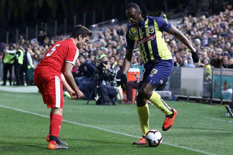Usain Bolt Scores First Professional Football Goal