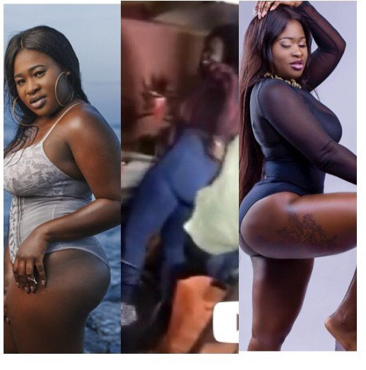 Sista Afia Caught On Camera Scratching Her 'Infested Butts'