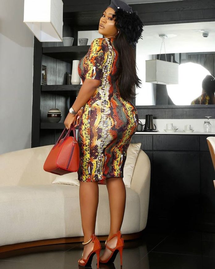 Actress Daniella Okeke Flaunts Her Curves In Figure-Hugging Outfit