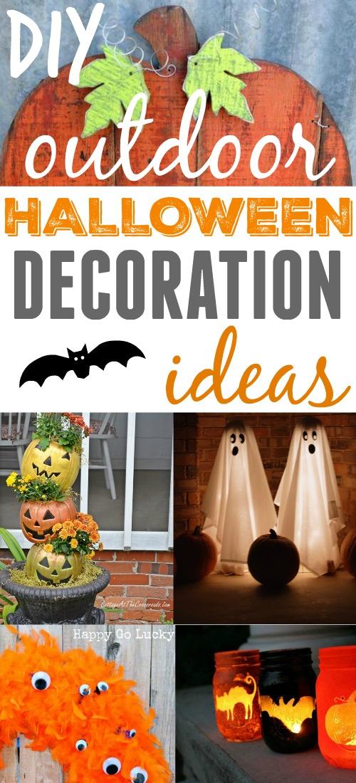 Diy Outdoor Halloween Decoration Ideas The Creek Line House