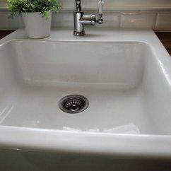 Ninja Kitchen Com Design App How To Clean A White Porcelain Sink | The Creek Line House