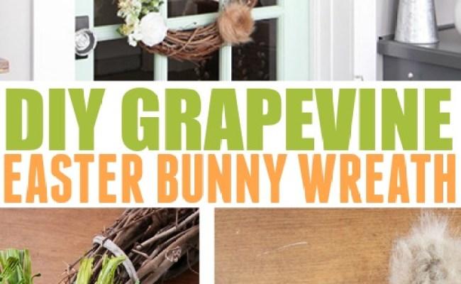 Diy Easter Bunny Wreath The Creek Line House