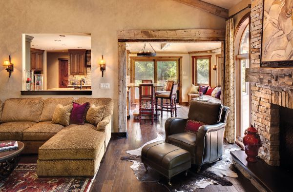 Rustic Home Decorating Ideas Living Room