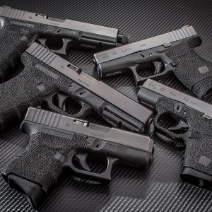 Various Glock Stippling