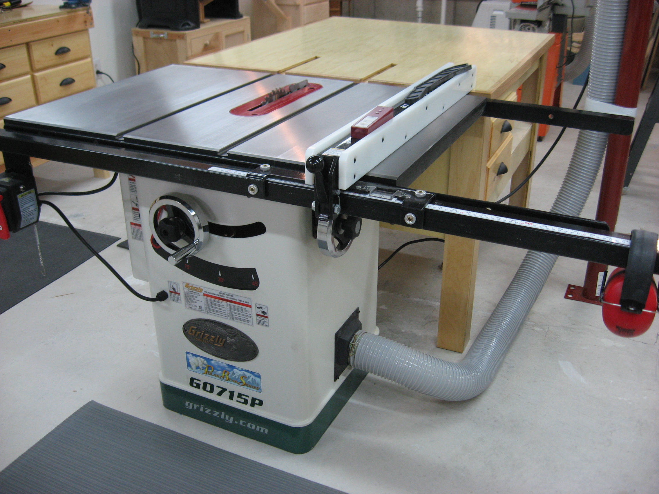 Grizzly G1182zhw 6 Jointer