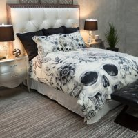 Skull Bedding: Sleep Like The Dead - Creepbay