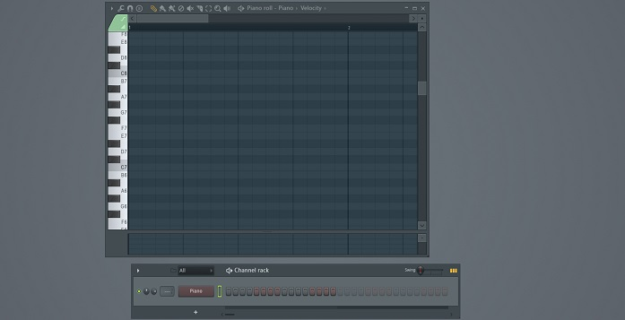 piano roll fl studio