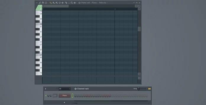 piano roll fl studio