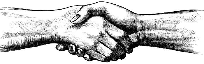 poignée de main