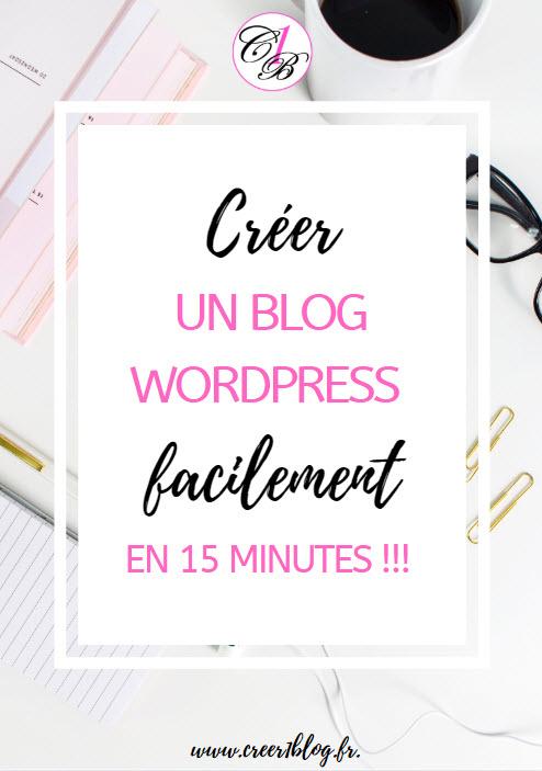 créer un blog wordpress en 15 minutes
