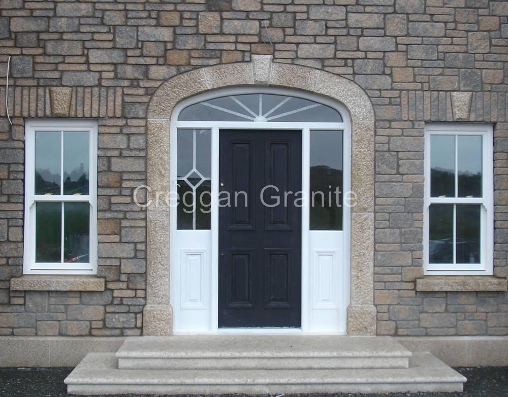 Steps  Creggan Granite Ireland  Creggan Granite Ireland  Granite sills Granite quoins