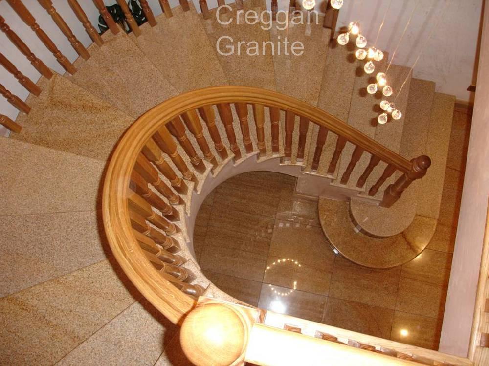 Granite Stairs  Creggan Granite Ireland  Creggan Granite