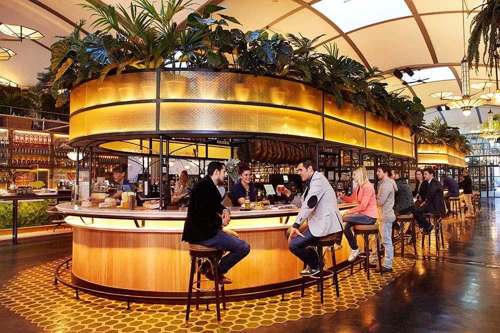 La barra de cervezas y conservas in El Nacional - Crema Catalana - blog over reizen, beleven, eten en logeren in Spanje