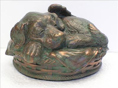 Sleeping Angel Dog Cremation Urn Large Cremation Solutions